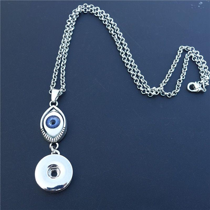 10pcs 18 mm Fashion Strass Alliage boutons pressions Fit noosa snap Bracelet N709