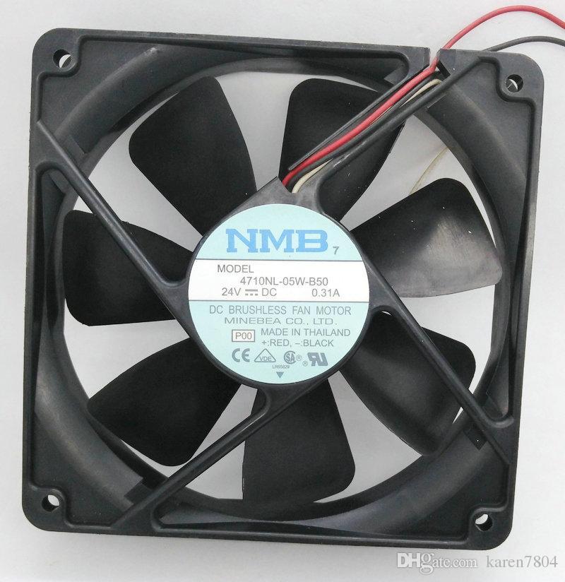 NMB 12025 4710NL-05W-B50 24V 0.31A Serverlüfter, Lüfter 4710NL-05W-B20 4710NL-05W-B30 4710NL-05W-B40