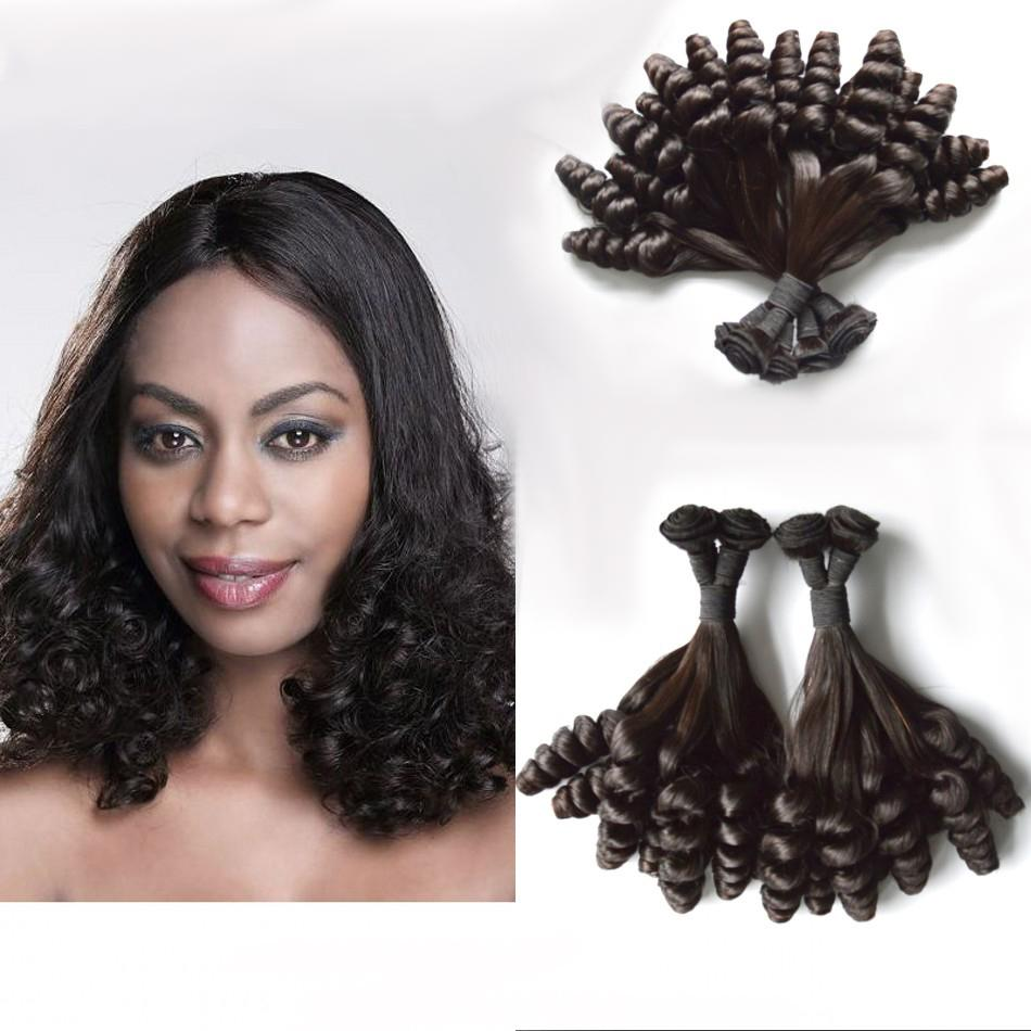 Malaysian Natural Color Human Hair Bundles 3 Bundles Funmi Hair 8-30 inch DHL Free FDSHINE HAIR