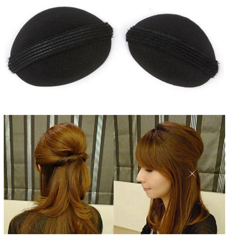 10pcs capelli braider facile fai da te strumenti per lo styling dei capelli bellezza panino bigodino bigodino capelli rullo coiffure spugnetta bigodino