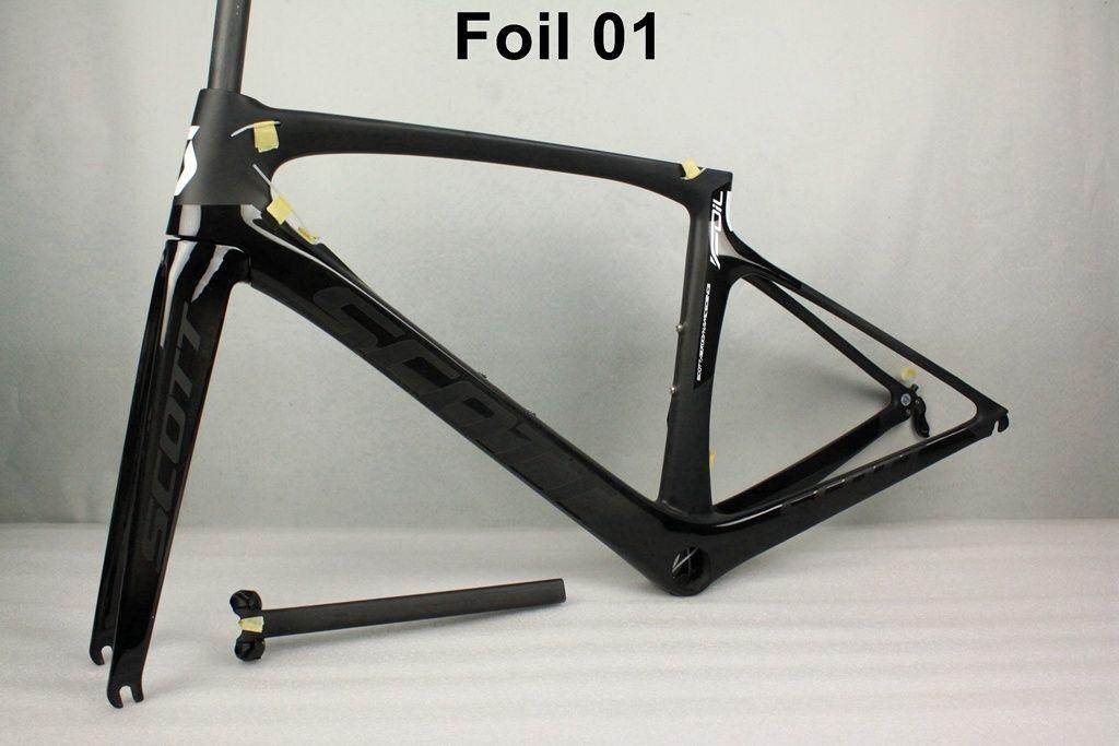 2017 New Foil Carbon Road Bike Frame Ud Weave Pf30 Bicycle Frameset ...