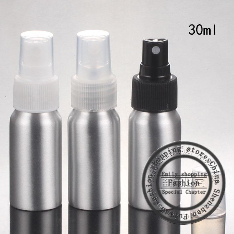 Новый, 40шт, 30 мл спрей алюминиевая бутылка, спрей тонкий туман флаконы духов, косметические точки розлива, многоразового бутылки