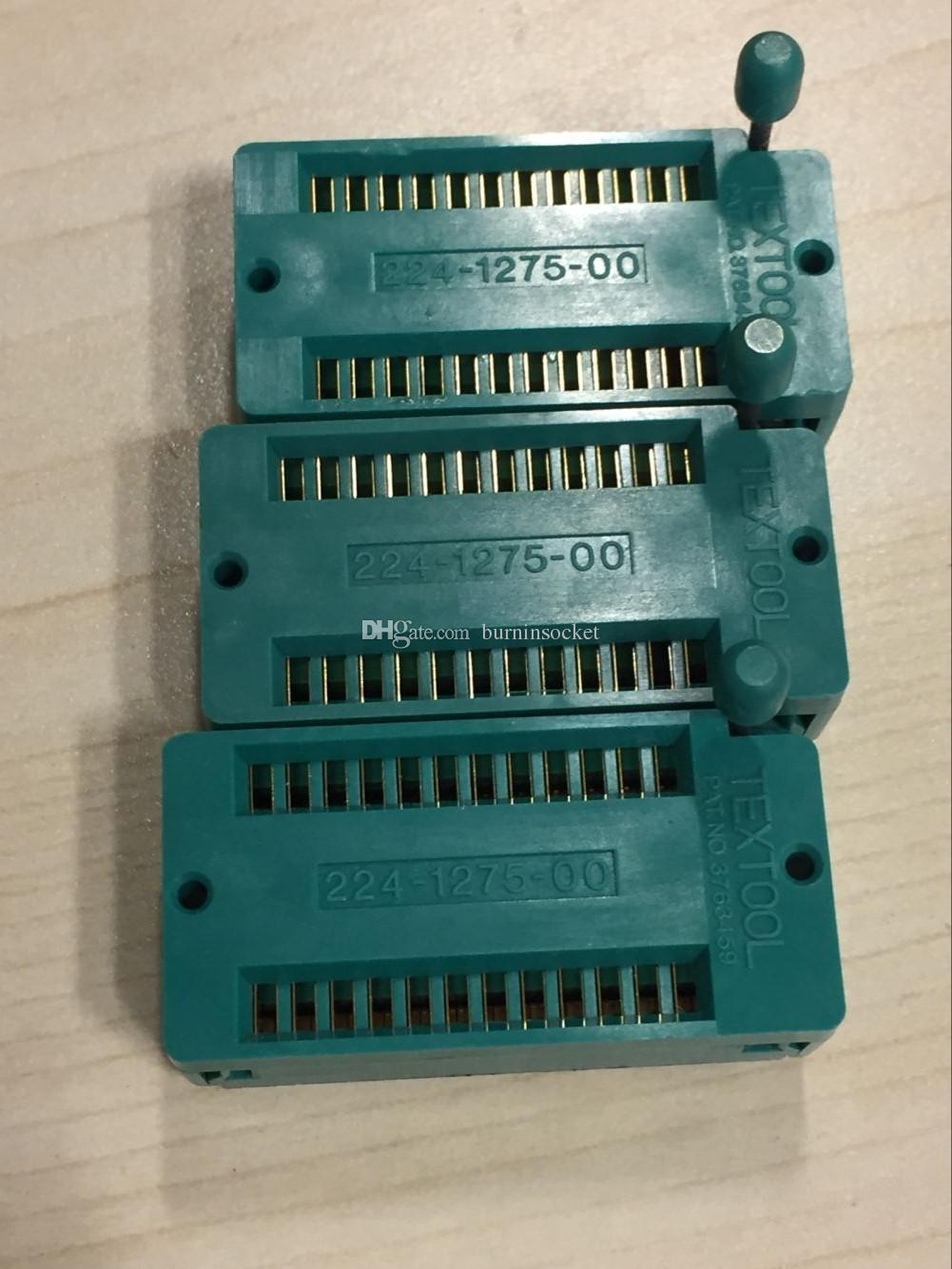3 M TEXTOOL 224-1275-00-0602J DIP24PIN 2.54 MM PITCH ZIP SOKET