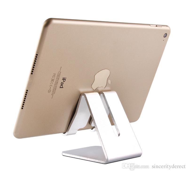 Masaüstü Cep Telefonu Tablet Standı, Gelişmiş 4mm Kalınlığı Alüminyum Cep Telefonu (Tüm Boyut) ve Tablet için Tutucu Stand