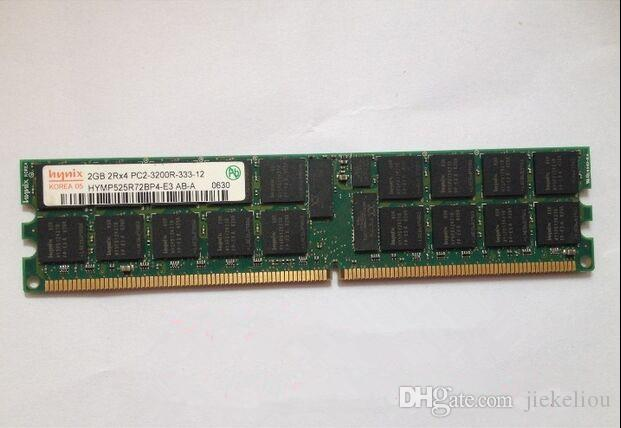 Server memory 4GB (2x 2GB) DDR2 400MHz ECC REG 2GB 2Rx4 PC2-3200R RDIMM RAM for HP WorkStation XW8200 XW6200 DL380G4 ML570G3 Server