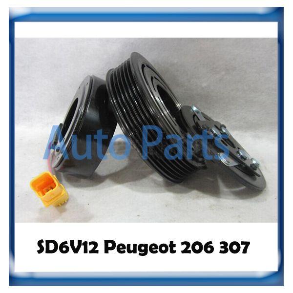 Frizione compressore SD6V12 per Peugeot 206 307