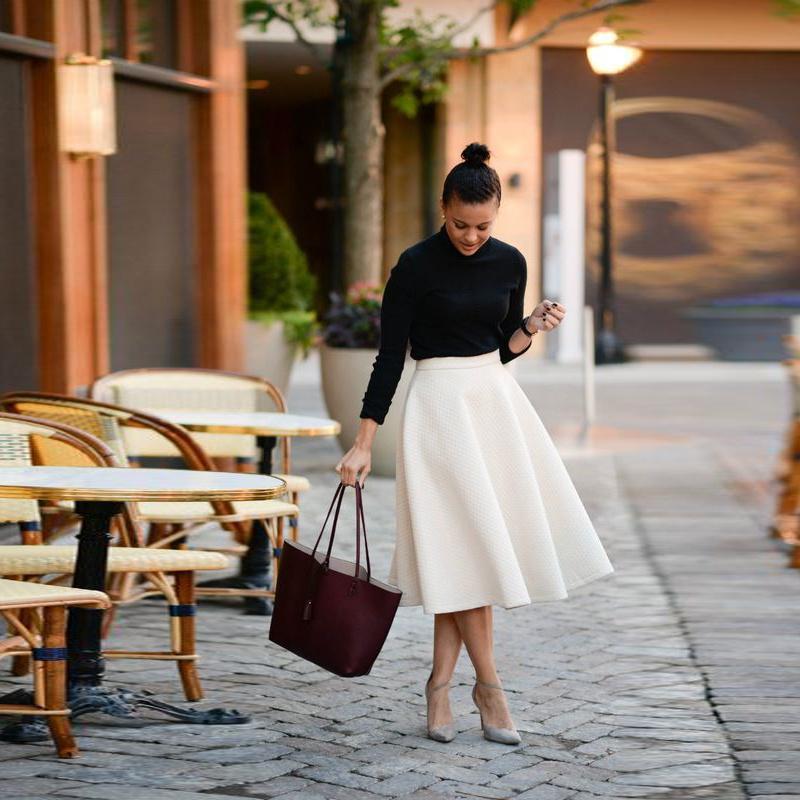 Tea Length Skirts for Women
