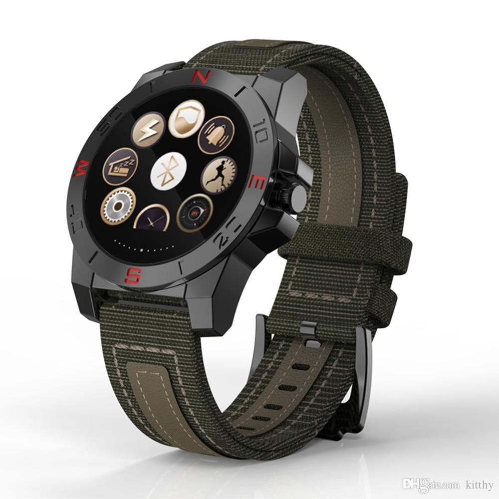 Smartwatch динамический монитор сердечного ритма N10 Bluetooth смарт спортивные часы с компасом термометр барометр высотомер IP67