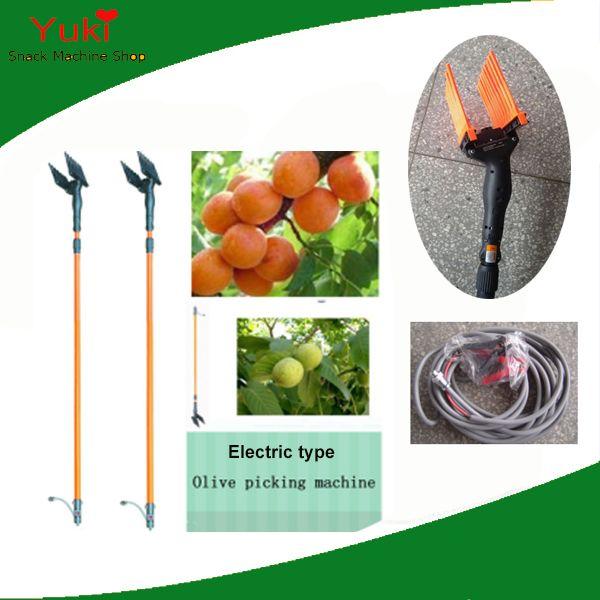 Satış 12V Zeytin Hasat Makinası Meyve Biçerdöver Elektrik Zeytin Hasat Ceviz Küçük Meyve Shaker Harvester tarihler