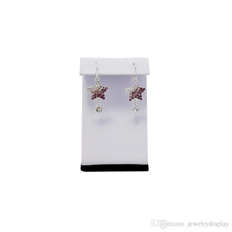 Wholesale Jewelry Display Kit of 10 Large Earring Easels Earring Holder Z Shaped Stand 7.5cm Height Free Shipping