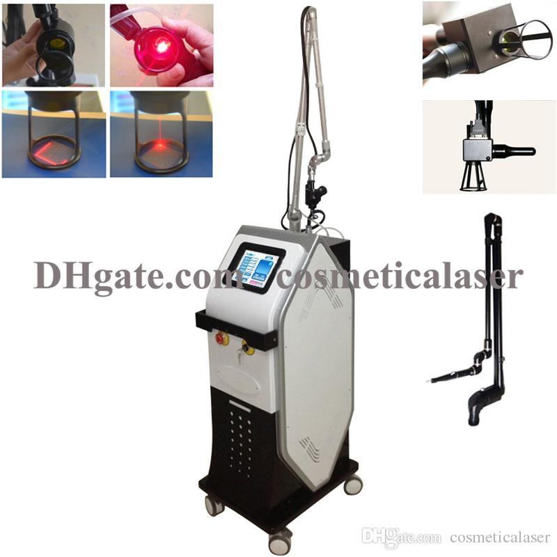 علاج إزالة الندوب CO2 كسور الليزر الجلد الظهور جهاز الليزر