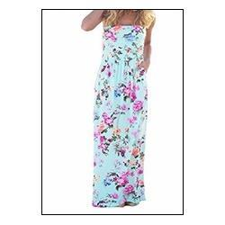 Preself-Floral-Printed-Pleats-Strapless-Long-Dress-Women-Casual-High-Wasit-Pockets-Maxi-Dress-Summer-Sexy