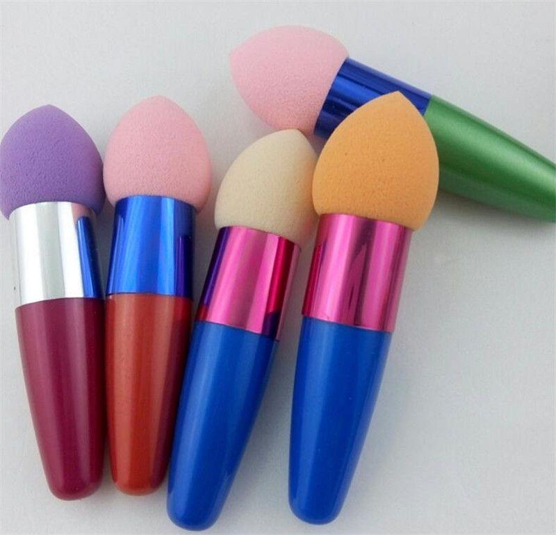 Makeup Foundation Sponge Puff Blender Blending Flawless Puder glatte kosmetische glatte Puffbürste Schönheit Werkzeug Applikatoren Baumwolle