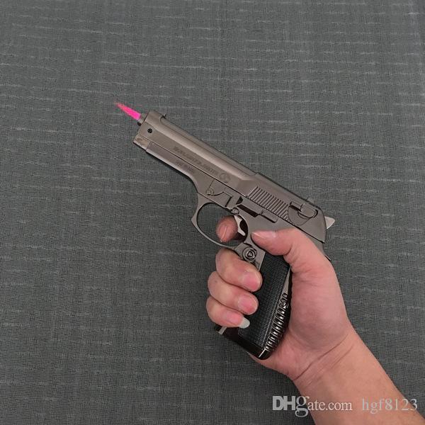 Большой металлический пистолет 54 РПК Браунинг военная модель пистолет опора металла легче ветрозащитный металлический револьвер типа пистолет легче.