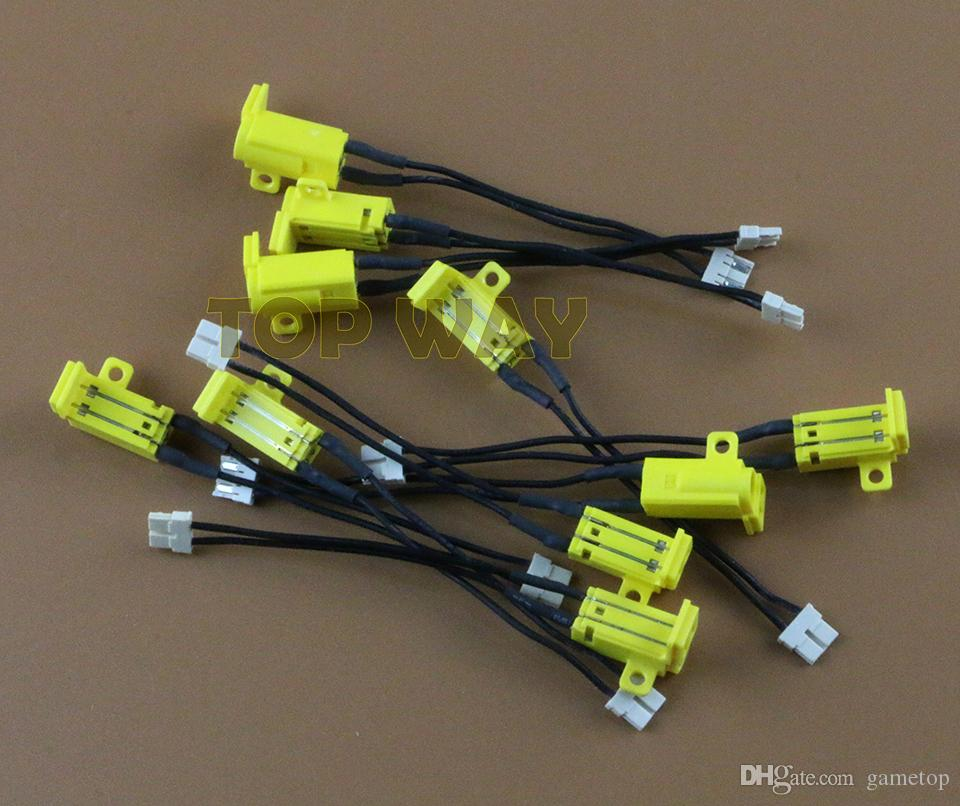 Para PSP1000 PSP 1000 DC Cargador de puerto Socket Plug Power Jack conector de carga 3 unids / lote