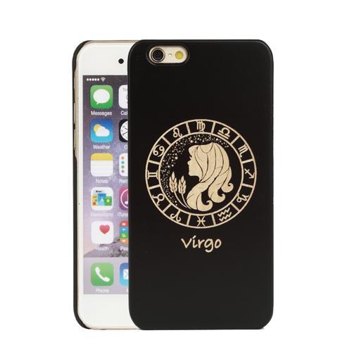 Caso de madeira PC duro sólido para iPhone esculpida animais Mobile Phone Cases Covers Case artesanal para iPhone 6 7 8