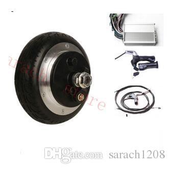 """6.5 """"250W 48V bęben bęben bezużyteczny silnik piasty koła elektrycznego, zestaw silnik silnikowy elektryczny 2 koła"""
