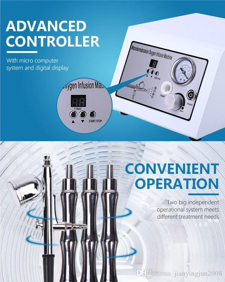 Best Selling water face cleaning oxygen therapy facial Diamond microdermabrasion machine