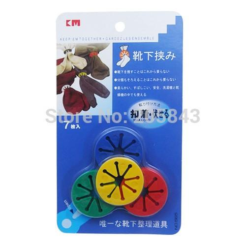 7pc-Colorful-House-Room-Socks-Clip