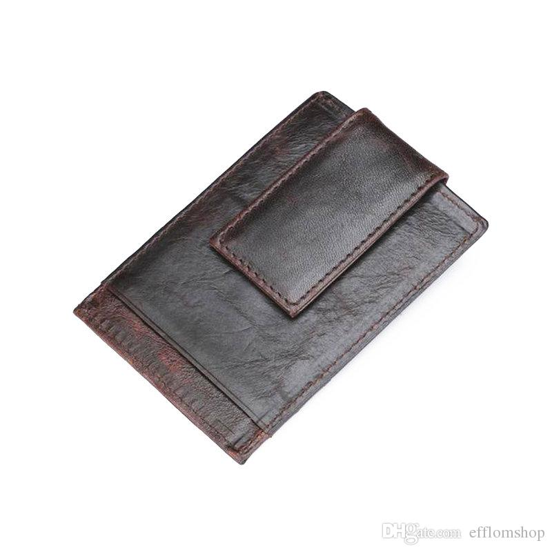 Rfid aluminum Card Wallet Men Women Business ID Credit Card Holder ...
