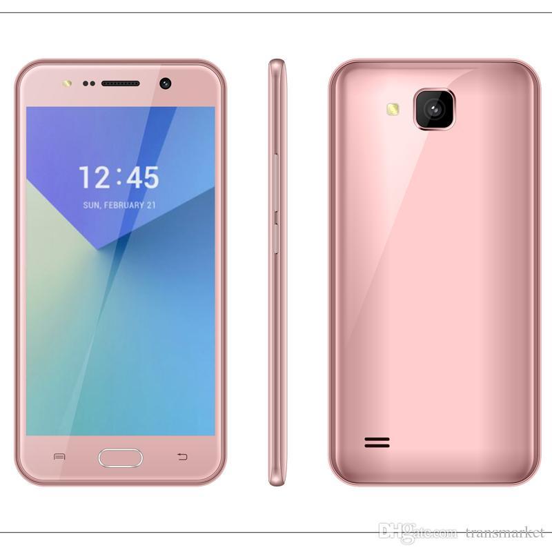 V5 Smartphone 5.5Inch MTK6580 QuadCore Android Smartphone 1GB RAM 4GB ROM Dual Camera 5.0MP Back Camera Gravity Sensor Smartphone Newest