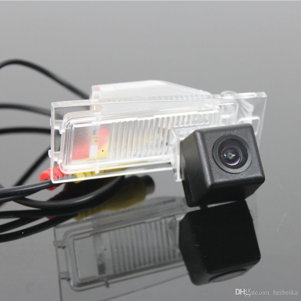 Macchina fotografica di retromarcia dell'automobile / macchina fotografica di parcheggio / CCD di RCA di HD NTST PAL / OEM leggero della targa di immatricolazione per FIAT Ottimo 2014 2015