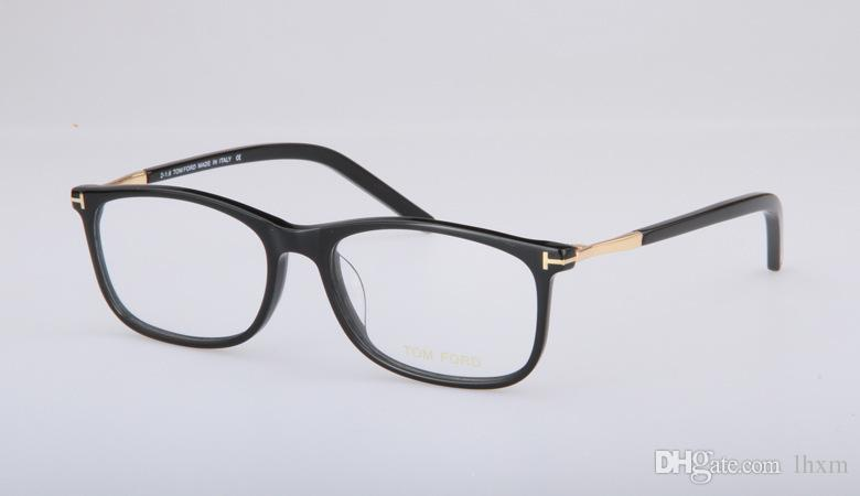 Moda estilo quente 5398 homens e mulheres do mesmo tipo de folha de óculos ópticos óculos de armação terminou óculos