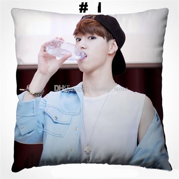 New boyfriend GOT7 Mark pillow girl Gift kpop customized Square Pillows home Decorative comfortable new Throw