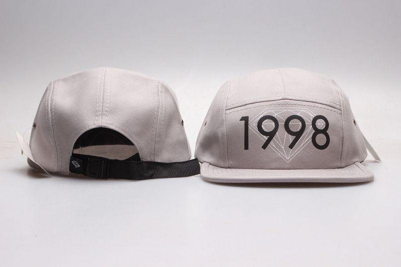 Hurtownie Diamond Snapback Kapelusze 5 Panel Czapki Dla Mężczyzn Kapelusz Tanie Snapback On Sale Sport Team Regulowane Snap Back Hats Czapki baseballowe