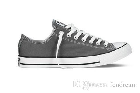 2017 Dorp Shipping Novo 35-46 Novo Unisex High-top Adult Feminino Sapatos de lona dos homens 13 cores Laced Up Casual Sapatos Sapatilhas Sapatos