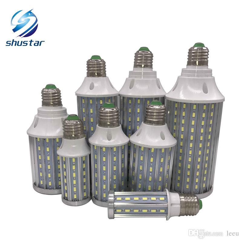 PCB ultra luminoso in alluminio 5730 SMD LED Cereale Bulb 85V-265V 10W 15W 20W 25W 30W 40W 60W 80W 80W No Flicker LED lampade