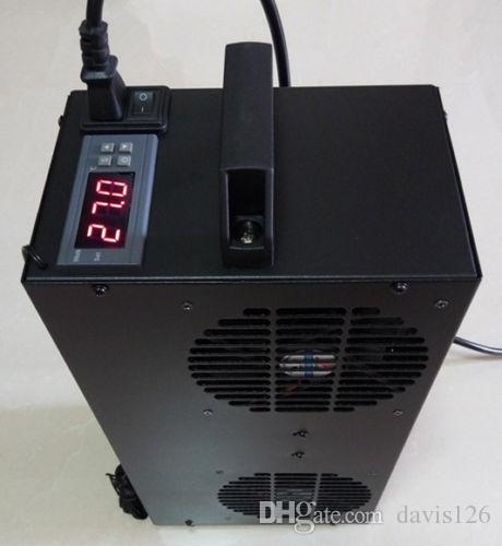 شحن مجاني 1x مبرد المياه الحرارية آلة تبريد المياه لجهاز الكمبيوتر غرفة تبريد حوض للأسماك 100l