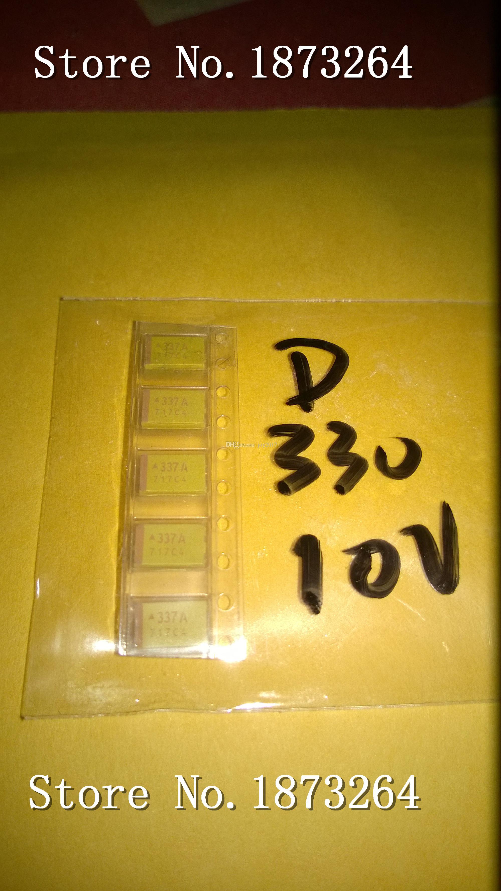 Livraison gratuite TAJD337K010RNJ D 7343 330UF 10V original et nouveau 100PCS / LOT