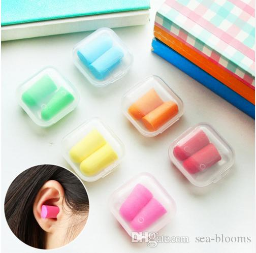 Ear Plugs foam sleep aid noise reduction travel shoot hearing protection 200 Lot