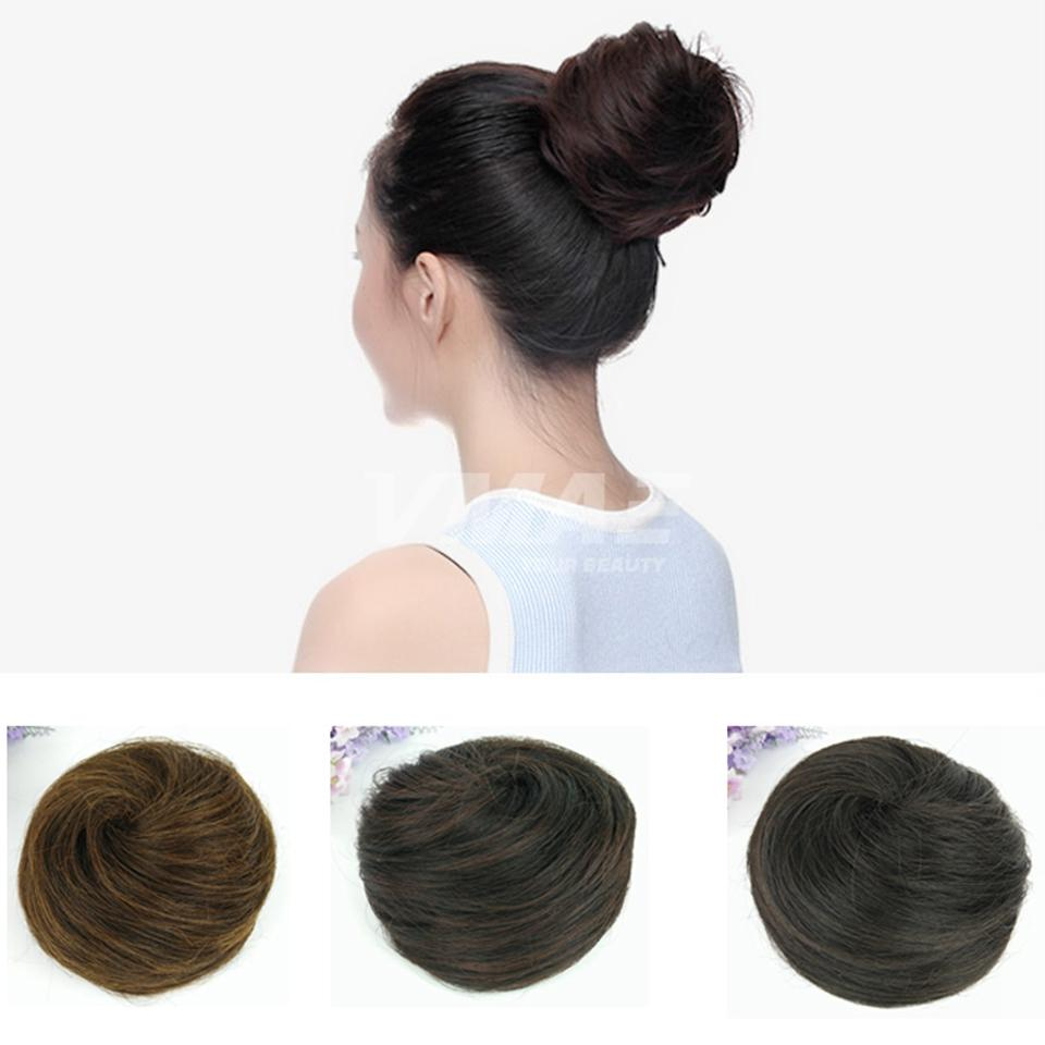 NEW Woman Hairpiece Hair Bun Topknot Wholesale Free Shipping ...