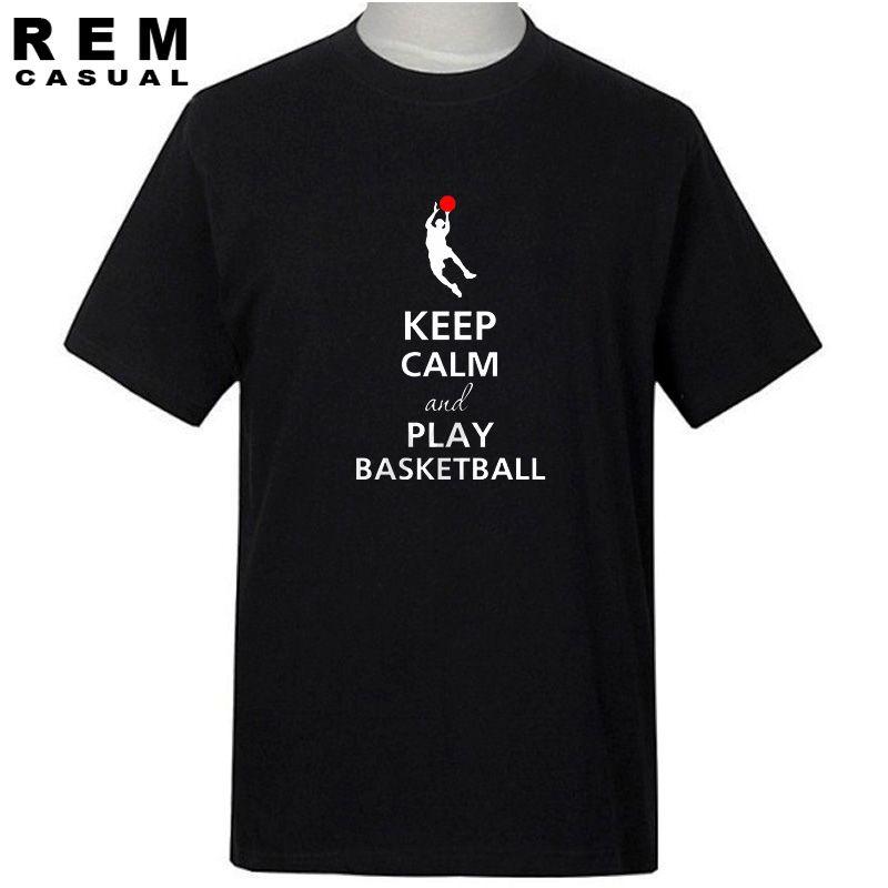 Commercio all'ingrosso- Sportswear libero di pallacanestro che stampa maglietta dell'uomo Maglietta degli uomini Maglietta del cotone della maglietta degli uomini della manica corta TeeTops