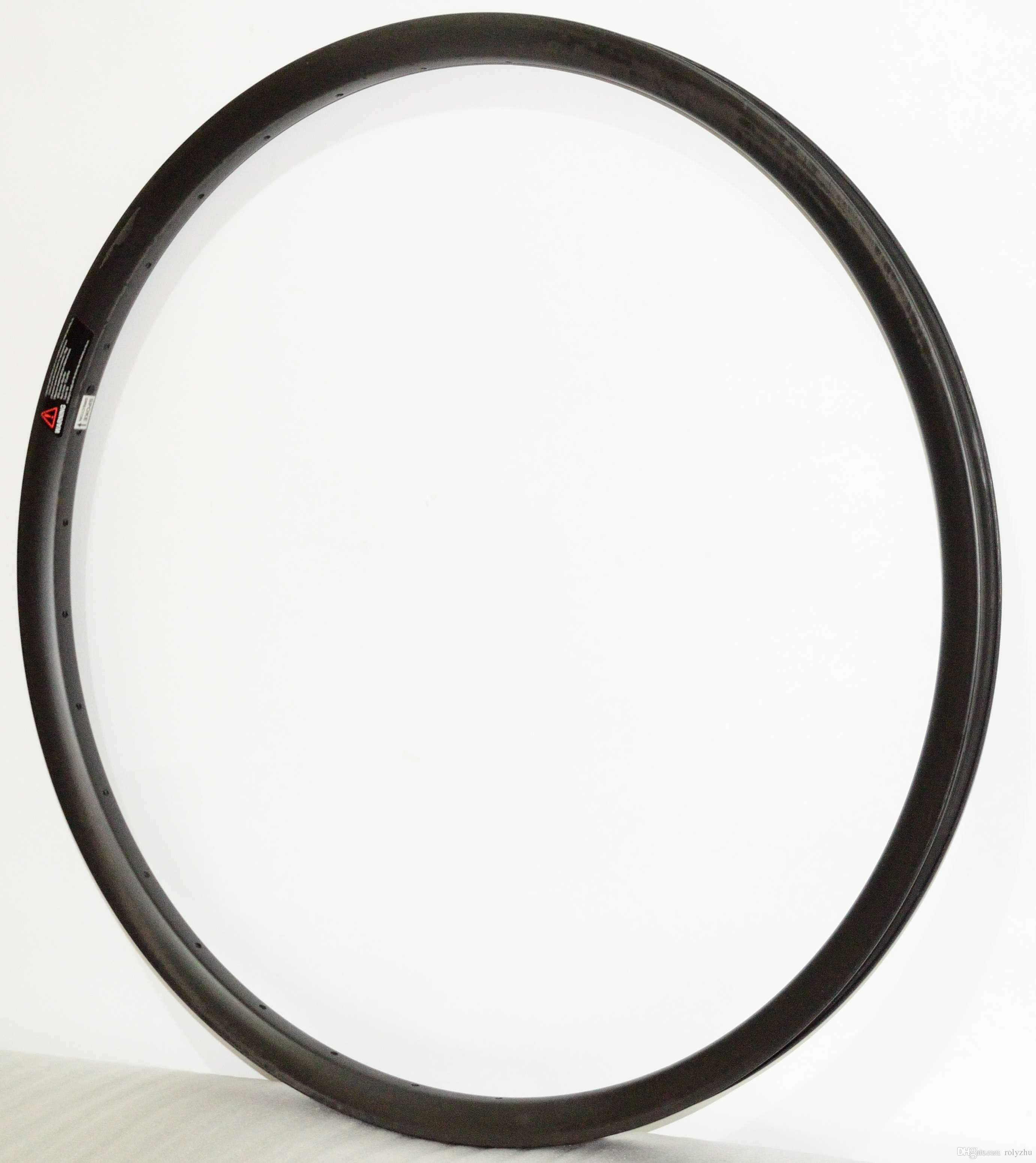 Frete grátis 27.5er rodas de carbono Hookless UD fosco Mountain Bike 27.5er mtb aros de carbono 35mm de largura 25mm profundidade 32 furos