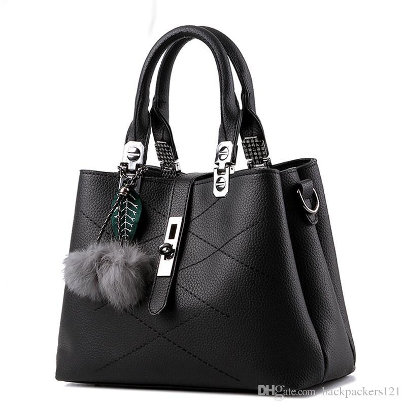 crossbody for women messenger bags handbags famous leather BlackBlue school ladies hand bags