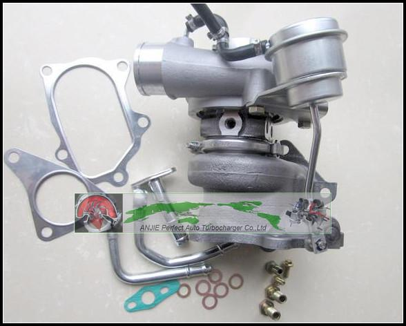 Turbo For SUBARU Forester Impreza 1998- 58T EJ20 EJ205 2.0L 211HP TD04L 49377-04300 14412-AA360 Turbocharger with gaskets pipe (5)
