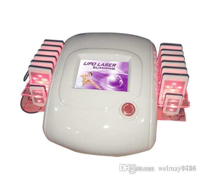 14 lazer yastık! Satılık led ışık tedavisi zayıflama makinesi