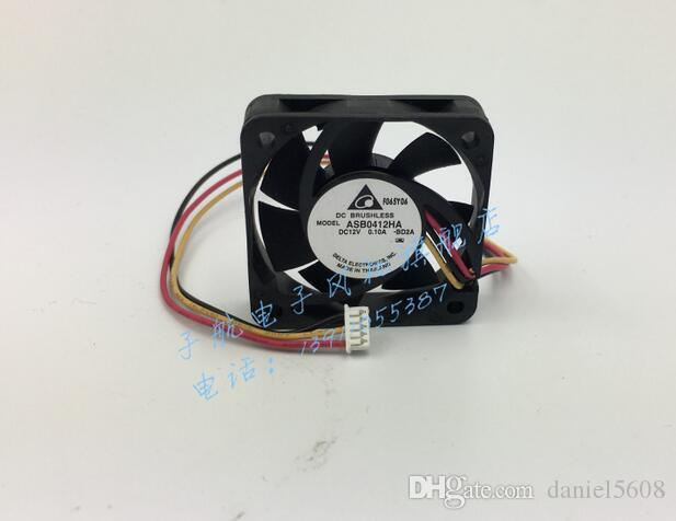 The original DELTA ASB0412HA 4010 40*40*10MM 12V 0.1A three lines speed fan