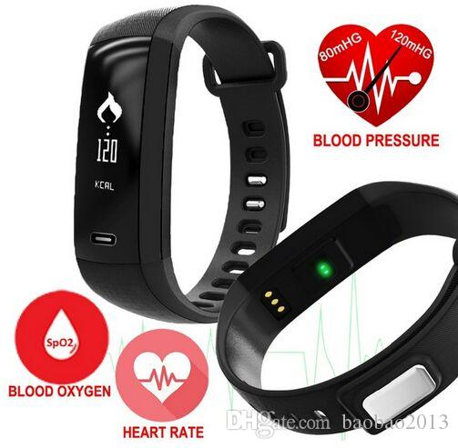 M2 Smart Band Blood Pressure Oxygen Oximeter Heart rate monitor SmartBand Sport fitness Bracelet Pedometer PK fitbit Mi band 2