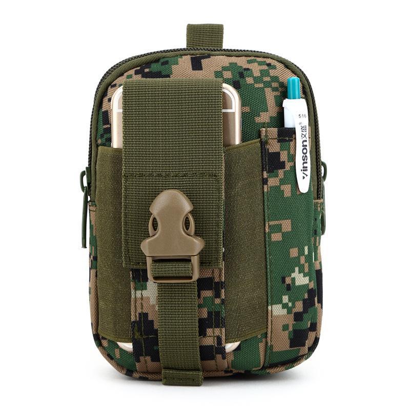 Тактические талии сумка мужчины EDC армии Fanny Pack повседневная мобильный телефон пояс сумка открытый путешествия спорт талии пакет