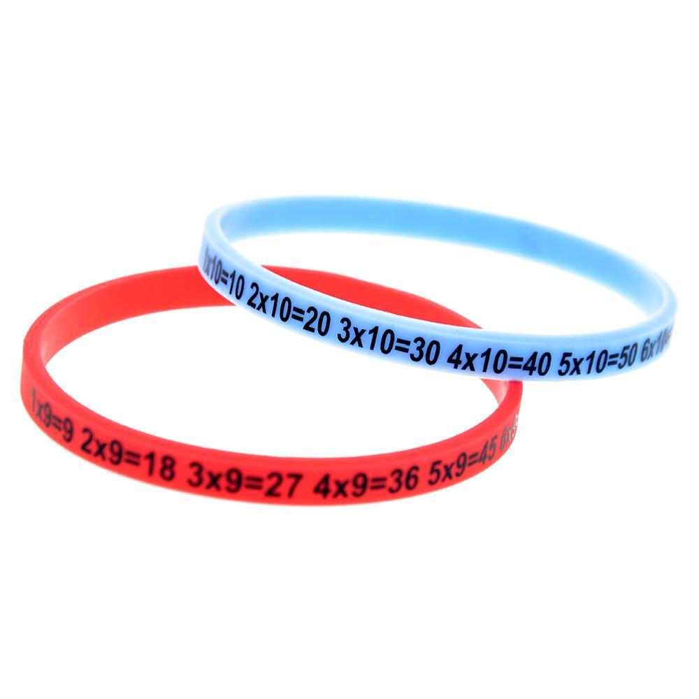 80 bandes-We spécialisés en promo Silicone Bracelets Personnalisé Bracelet Bandes Couleur