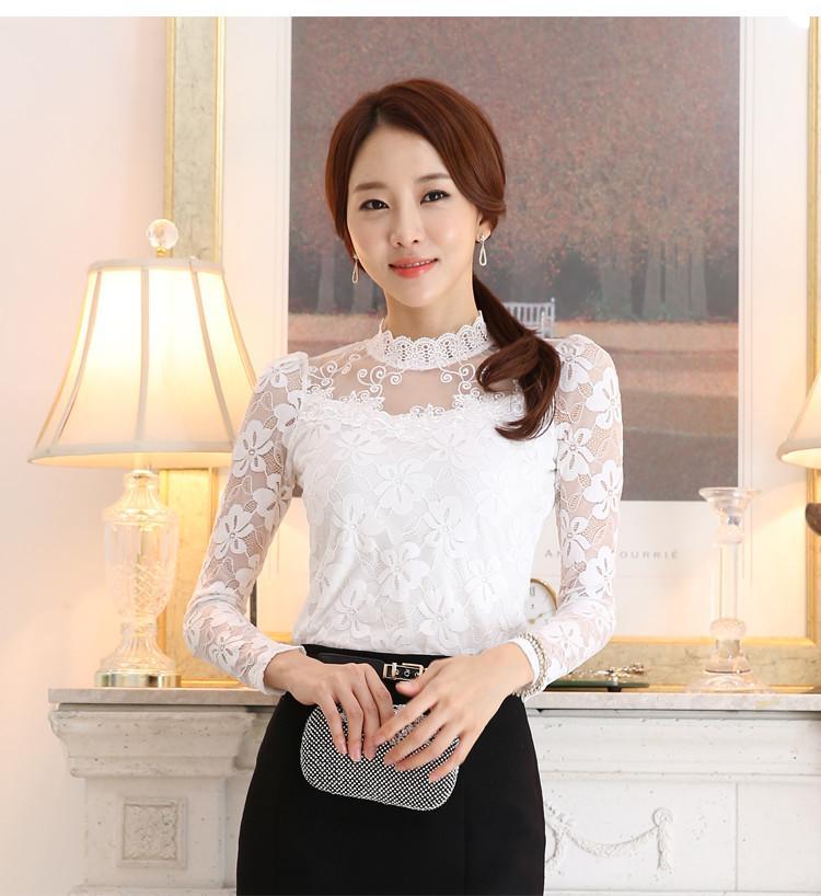 lace blouse 513