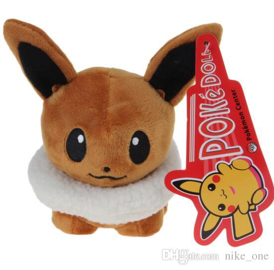 Christmas Eevee.2019 5 5inch Plush Toys Stuffed Animals Eevee Kids Christmas Gifts Glaceon Leafeon Eevee Vaporeon Flareon Pocket Monster Doll Toys Children From