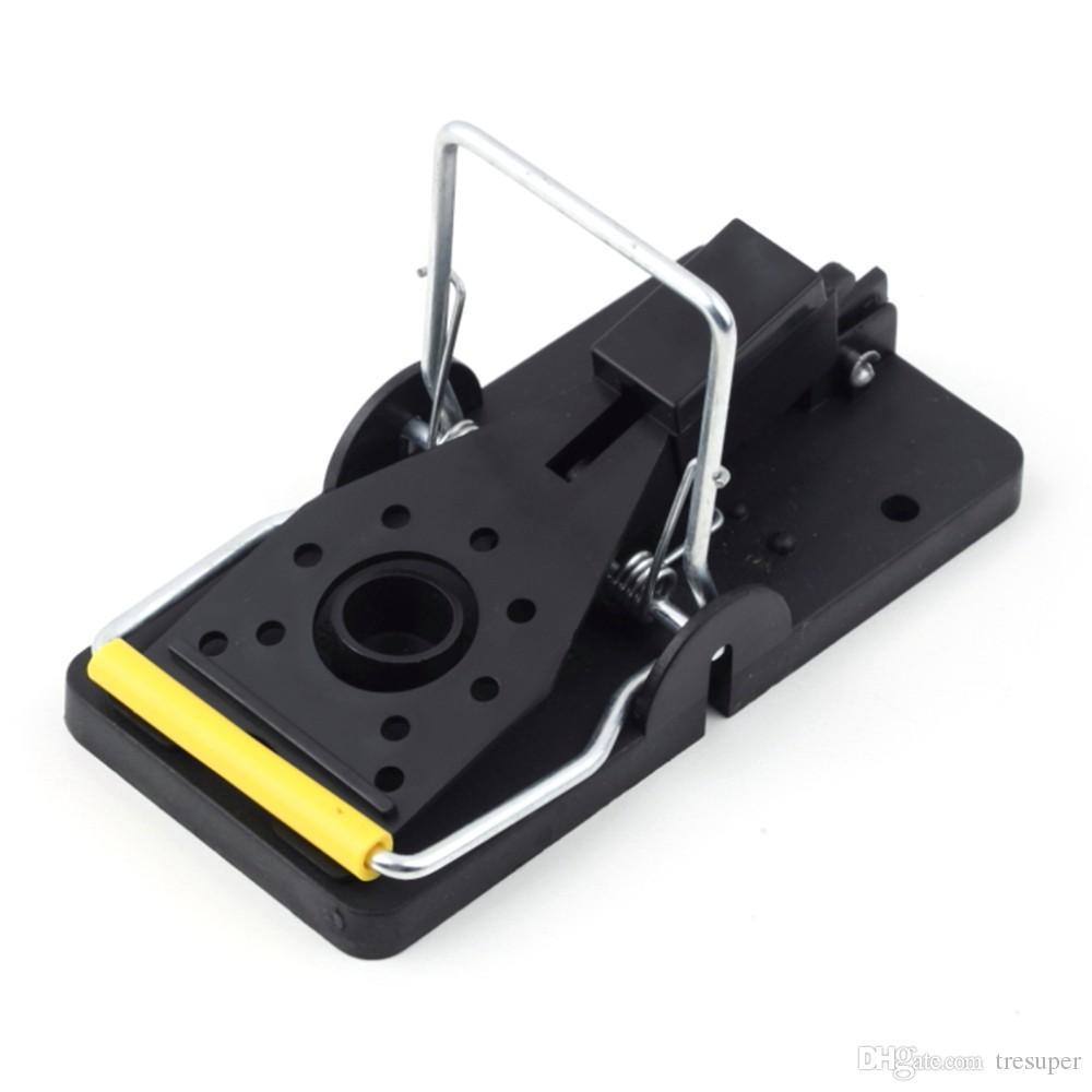 2ピースラットトラップヘビーデューティSNAP-Eマウストラップ - 簡単セットキャッチャー