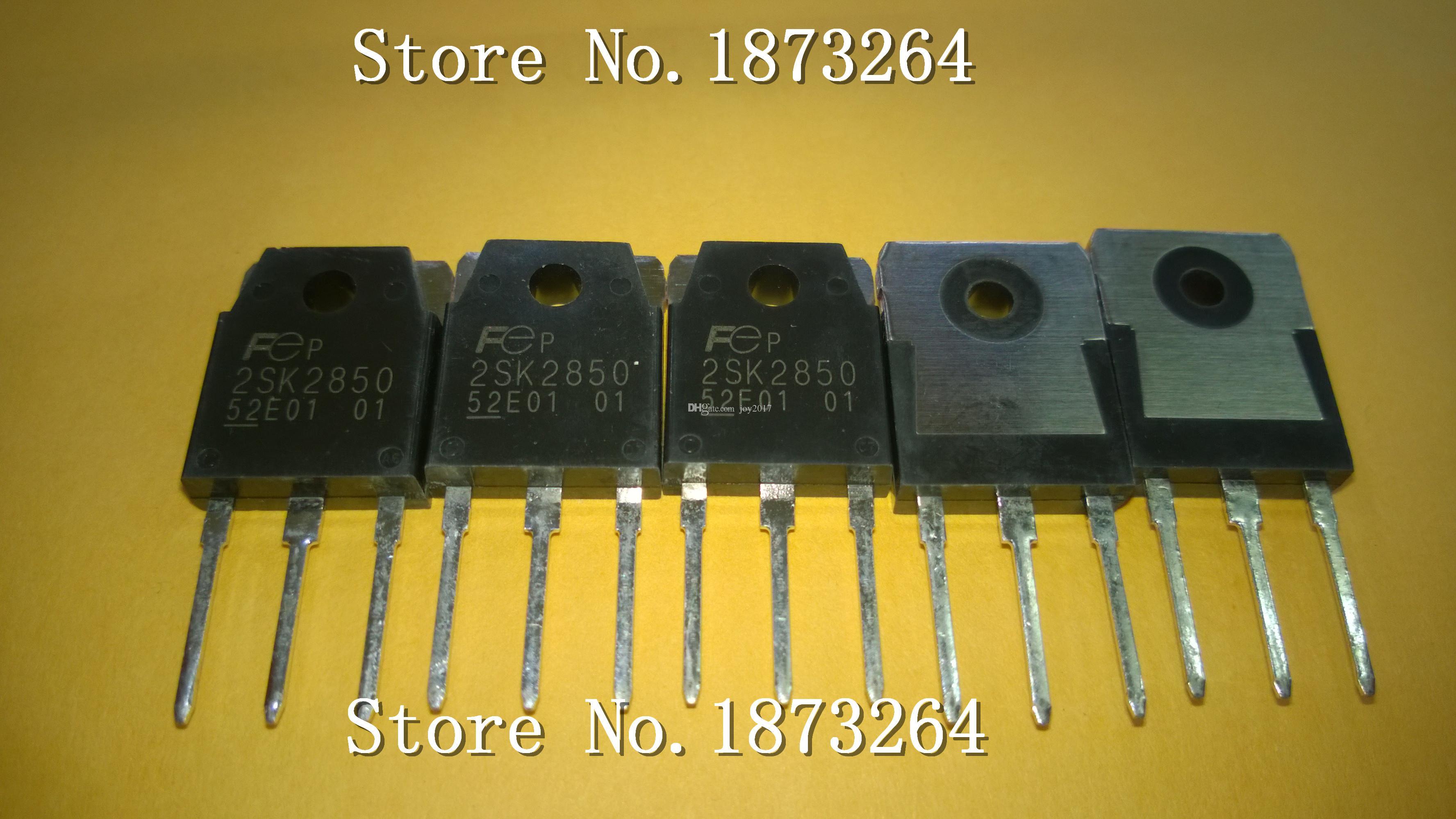 Ücretsiz kargo 2SK2850 2SK2850-01 K2850 TO3P Yeni ve orijinal 10 ADET / GRUP