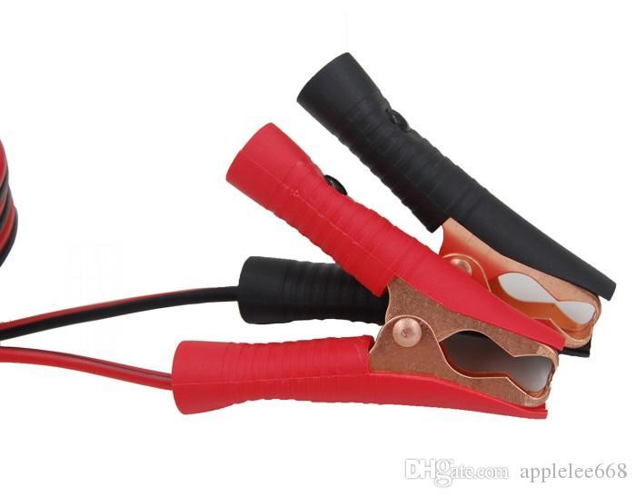 12 Volt Zigarettenanzuender Verlaengerungskabel Batterieclip mit Steckdose DA 1X