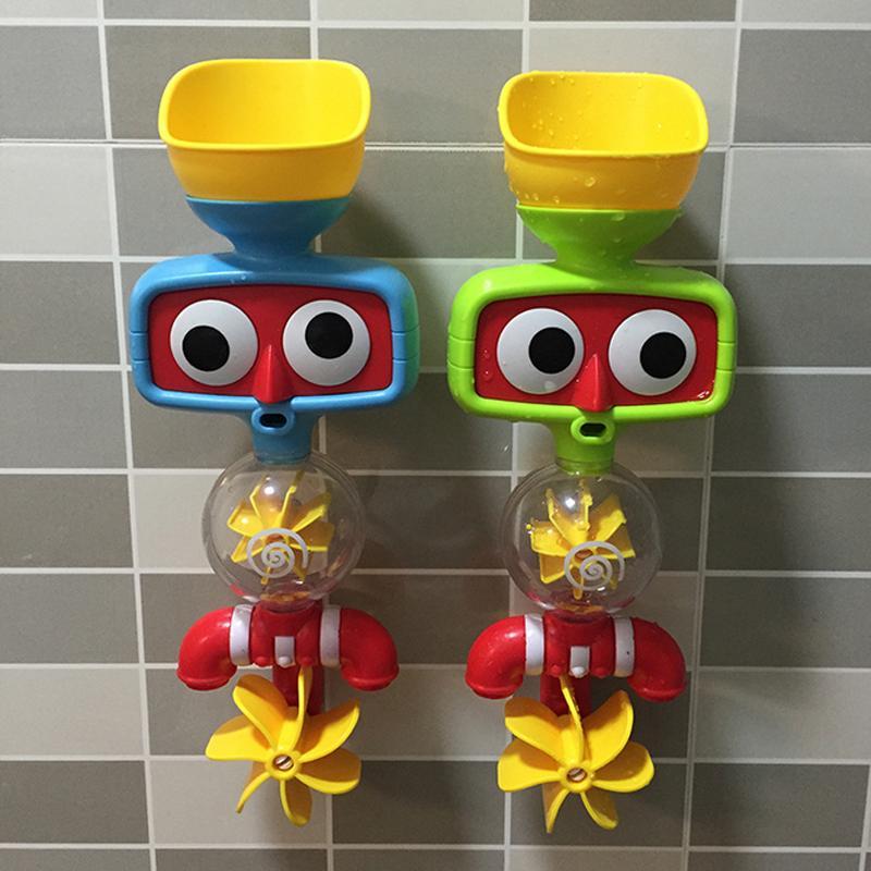 1 PC Kreatives Neues Badezimmer Kleine Drehende Musik Spielwaren Für Die  Kinder, Die Im Wasser Bad Spielzeug Baby Kind Spaß Spiel Geschenke Spielen